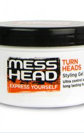 Mess Head Styling Hair Gel Wax - Extra Hold 150ml